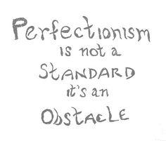 Perfectionasm